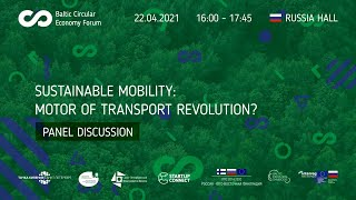 """<span class=""""fs-xs"""">Sustainable mobility: motor of transport revolution?</span>"""