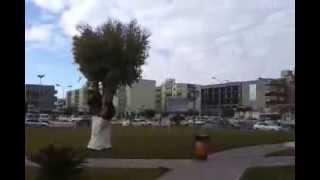 preview picture of video 'زليتن  ميدان الساعة {} Zlitan City   The Clock Shpere'