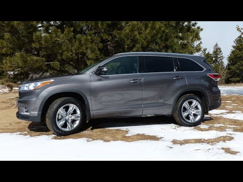2014 Toyota Highlander Off-Road Review: Colorado Muddy Mess Test