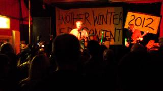 Steve Lake of Zounds - Intro to True Love at The Boston Arms Tufnell Park London March 4, 2012