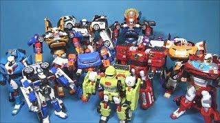 또봇 장난감들 X 트라이탄 변신동영상 All Tobot toys in S13