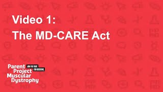 The MD-CARE Act [Advocacy Hub Ep. 1]