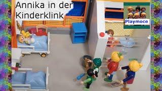 Annika In Der Kinderklink Playmoce Familie Meiners Playmobil Film Deutsch