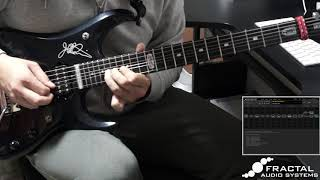 Dream Theater   Barstool Warrior Solo With AXE FX 3