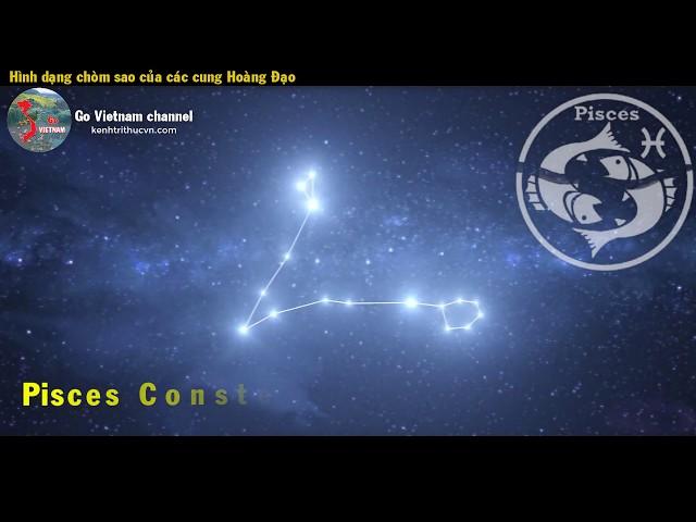 Hình dáng Chòm Sao của các Cung Hoàng Đạo | Go Vietnam ✔