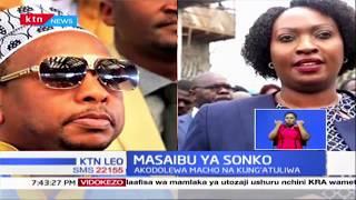 Sonko akodolewa macho na Kung'atuliwa | Masaibu ya Sonko