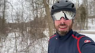 Giro Vanquish Mips First impressions! Frozen beards!