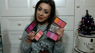 REVIEW: Sleek MakeUP Blush By 3 cheek palettes