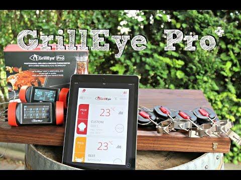 GrillEye Pro+ Grillthermometer mit 8 (!!!) Fühlern
