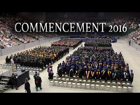 Video: Commencement 2016