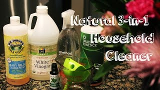 DIY: All-in-one Natural Household Cleaner. Green & Non-Toxic.