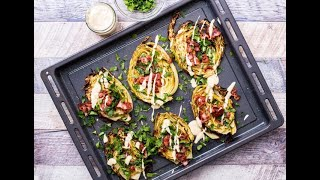 Roasted Cabbage Steaks: crispy and delicious!