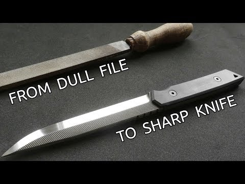 Turning an Old File Into a Knife