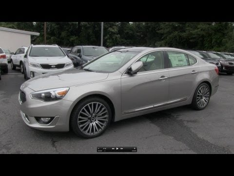 2014 Kia Cadenza (Technology Group) Start Up, Exhaust, and In Depth Review