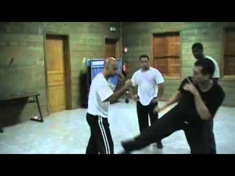 Jeet Kune Do Entering to Kicking to Trapping