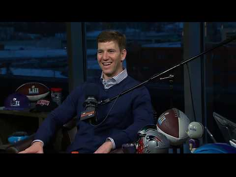 Giants QB Eli Manning on The Dan Patrick Show   Full Interview   2/2/18
