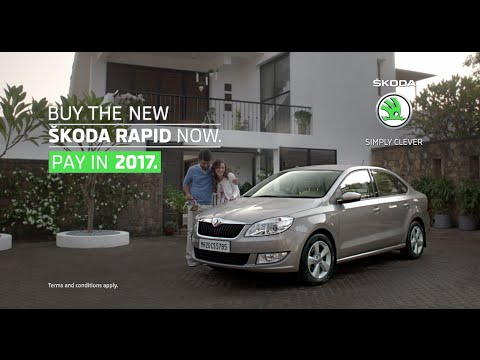 SKODA Rapid- Buy Now, Pay in 2017