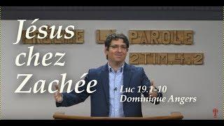 JÉSUS CHEZ ZACHÉE