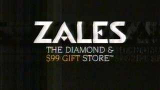 Zales 1996 Diamond and Gold Jewerly commercial