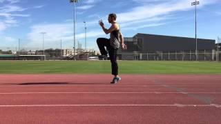 Sprint Drills A Walk, A Skip, B Walk, B Skip
