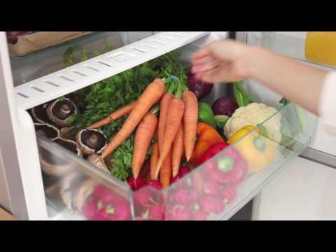 Miele Freestanding Fridge Freezer Frost Free KFN29233D-BB - Blackboard Video 1