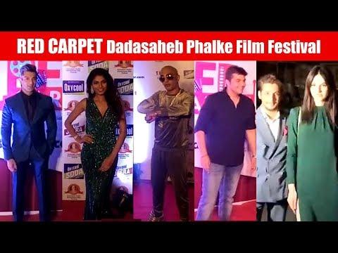 Bollywood Celebrities At Red Carpet Of Dadasaheb Phalke International Film Festival