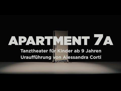 APARTMENT 7A Uraufführung von Alessandra Corti - Premiere 13.09.2020