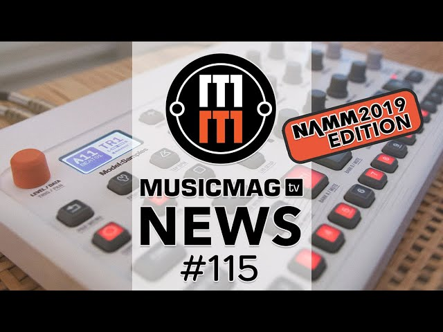 MUSICMAG TV NEWS #115: Akai Force, Elektron Model:Samples, Bitwig Studio 3 и др.