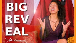 Youtube with Victoria Vives SURPRISE REVEAL! Victoria Vives' Never Shared Before ANNOUNCEMENT sharing on Become Your Divine Self