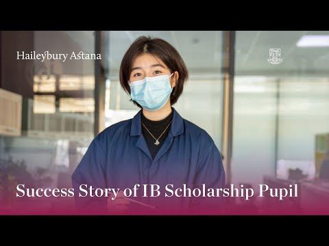 Success Story of IB Scholarship Pupil