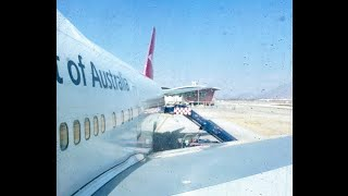 Flight Report | Qantas | B744ER | VH-OEJ | Santiago [SCL] - Sydney [SYD]