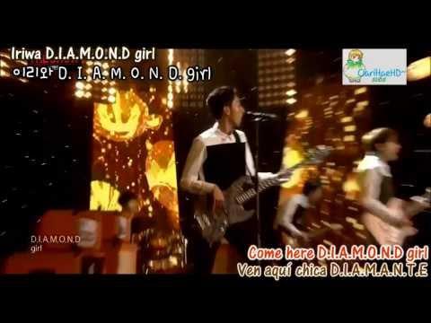 Diamond Girl - CNBLUE [Eng sub - Esp sub - Hangul - Rom]