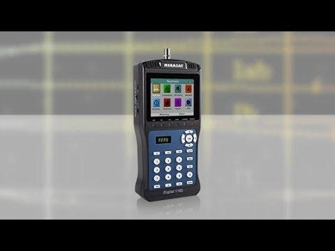 Megasat Satmessgerät Digital 1 HD (Produktvideo)