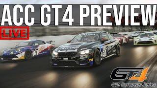 Assetto Corsa Competizione GT4 Preview Event