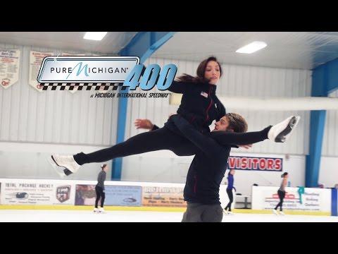 Charlie White & Meryl Davis | Pure Michigan 400