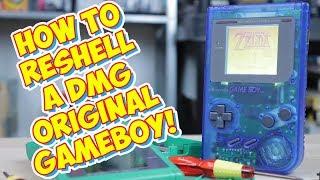 Re Shelling A Original Game Boy DMG! Easy Mod Makes It Like New!
