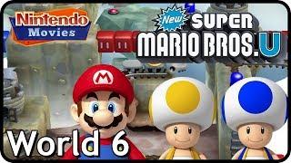 Download New Super Mario Bros  U: World 6 Rock-Candy Mines