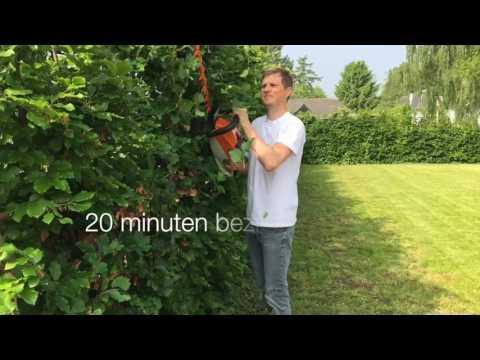 Getest: STIHL HSA 86 Haagschaar + AP 200 batterij