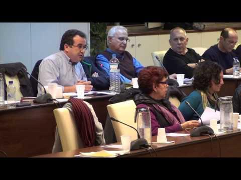 Δ. Συμβούλιο 26-11-2014: Τοποθετήσεις Δ. Συμβούλων - Προϋπολογισμός Δ. Βύρωνα 2015