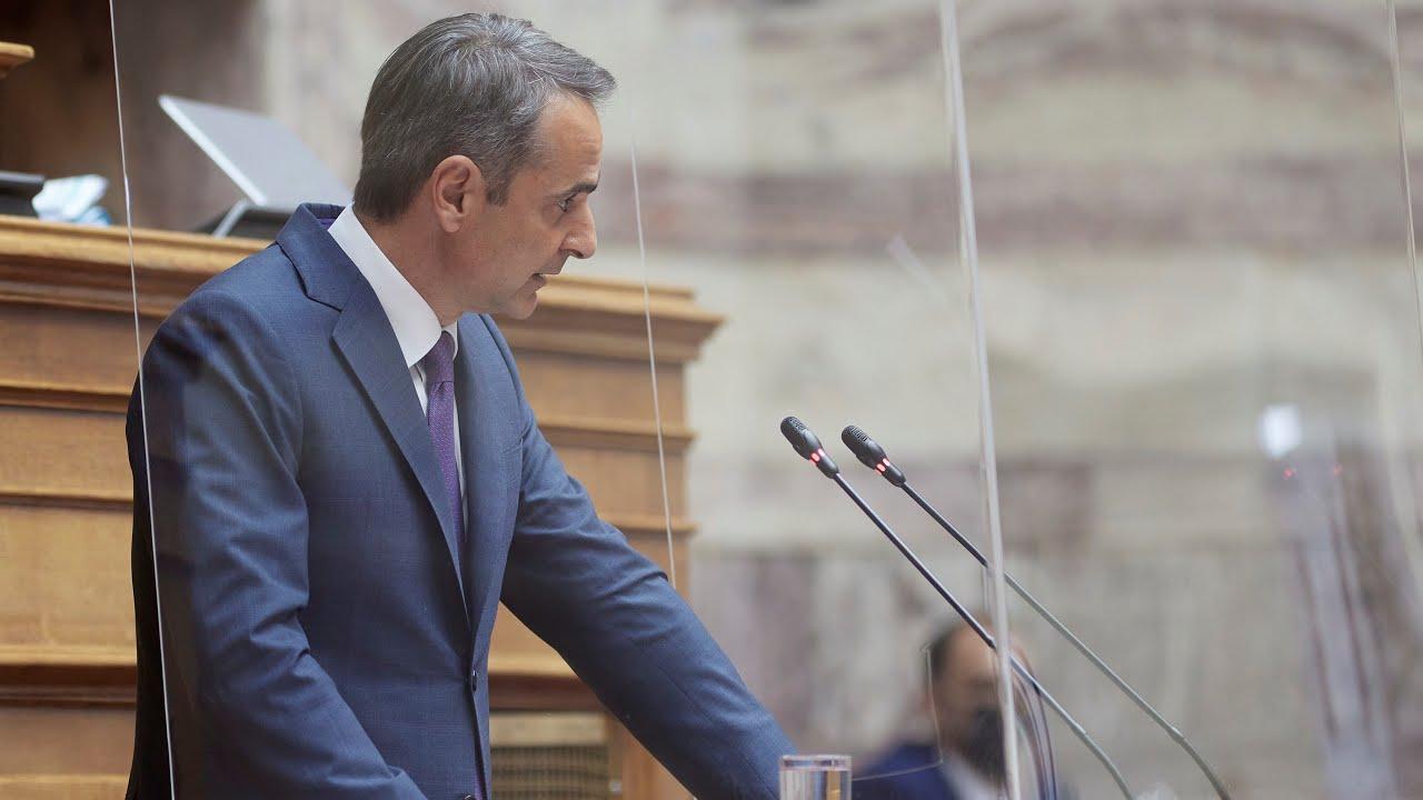 Δευτερολογία του Πρωθυπουργού Κυριάκου Μητσοτάκη στη Βουλή στο νομοσχέδιο του Υπουργείου Παιδείας