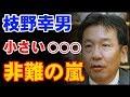 立憲民主党・枝野幸男が『まっとうな政治』掲げ立ち上がった! キモが小さい扇動演説に聴衆から非難!野党第一党の可能性