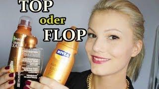 BRÄUNUNGS-PRODUKTE Top oder Flop?!   Nivea, Garnier und Academie