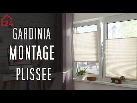 Gardinia Easyfix Plissee mit 2 Bedienschienen Montagevideo
