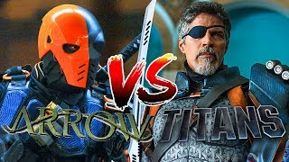 Arrow Vs Titans: Which Show Did Deathstroke Better?