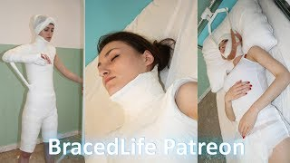 Christy Spica Body Plaster Cast Story