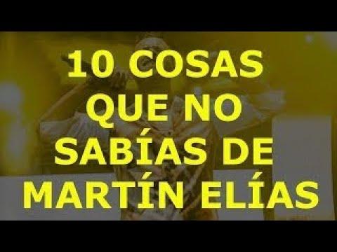 10 Cosas Que No Sabías De Martín Elías
