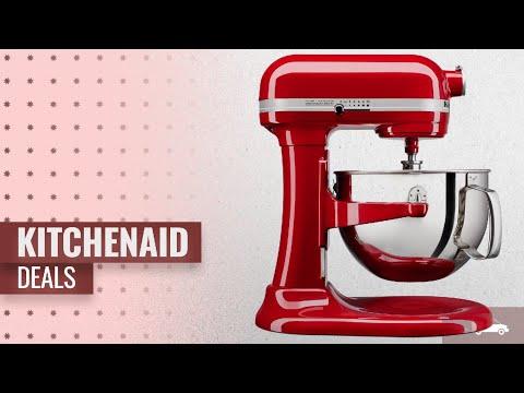 , KitchenAid KL26M1XSL Professional 6-Qt. Bowl-Lift Stand Mixer – Silver