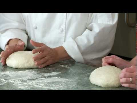 Sourdough bread: shaping and baking the bread