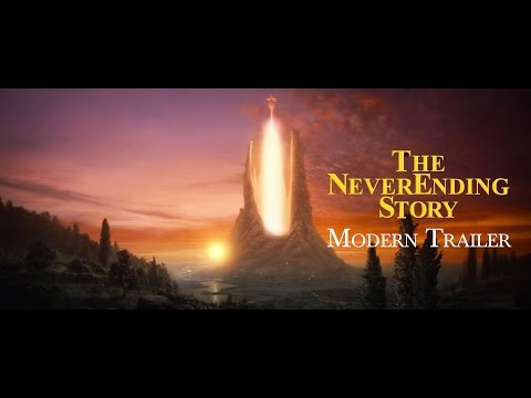 "A modern trailer for ""The NeverEnding Story"""