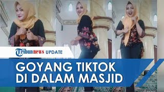 Viral Video 3 Orang Ibu Muda Joget Pinggul di Masjid, Warganet Nilai Sudah Menodai Rumah Ibadah